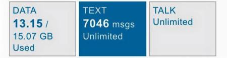 7046 text messages my at&t app iphone