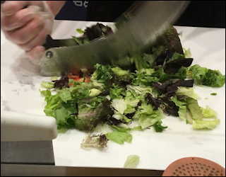 restaurant review, crushed red chopped salad and pizza, westminster co