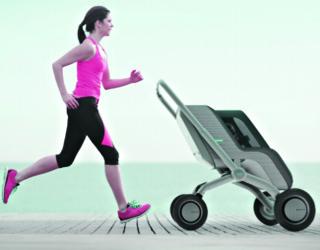 smartbe robot nanny stroller indiegogo
