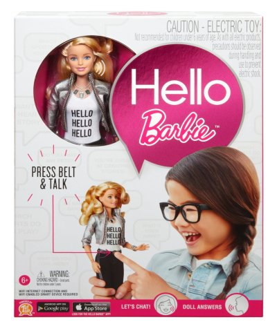hello barbie packaging