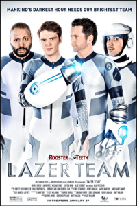 lazer team one sheet movie poster