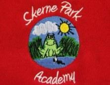 skerne park academy logo, embroidery