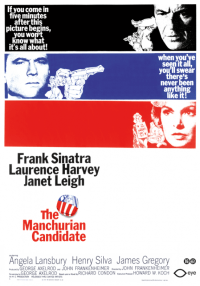 the manchurian candidate one sheet movie poster 1962