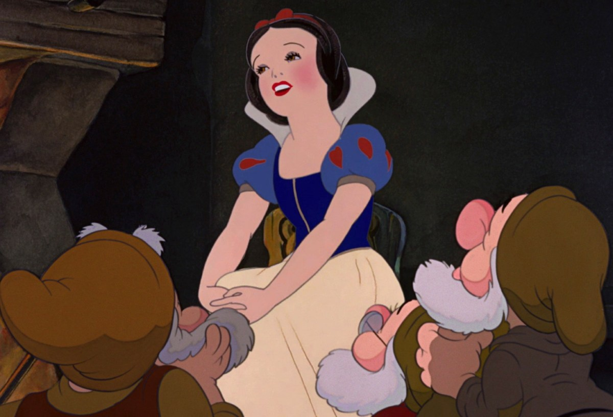 snow white and the seven dwarfs, animation cel