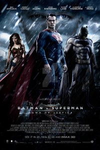batman v superman dawn of justice movie poster one sheet