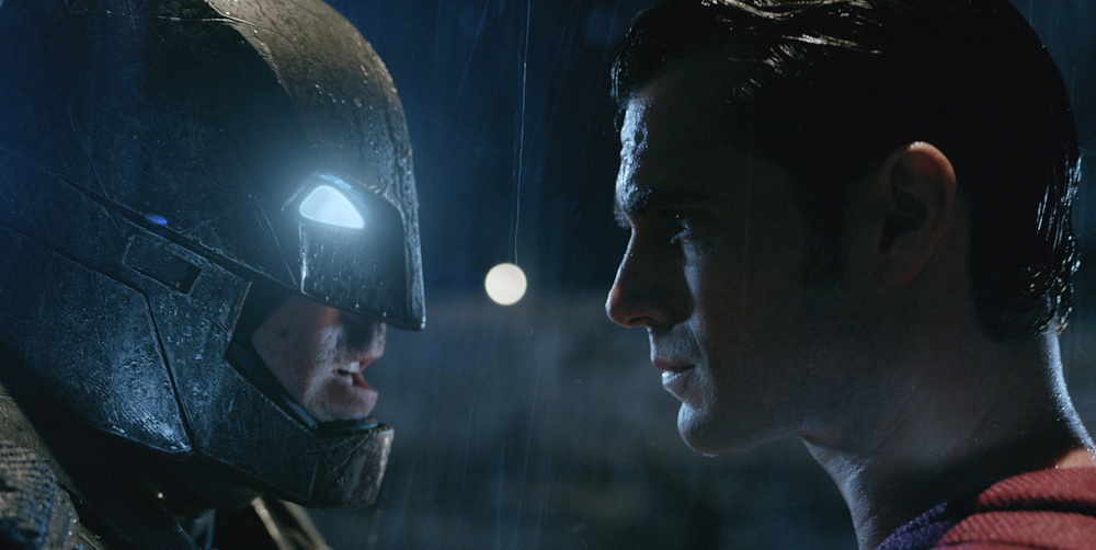"Batman (Ben Affleck) vs Superman (Henry Cavill), from ""Batman v Superman: Dawn of Justice"""
