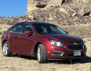 road trip with the 2015 chevy cruze LT