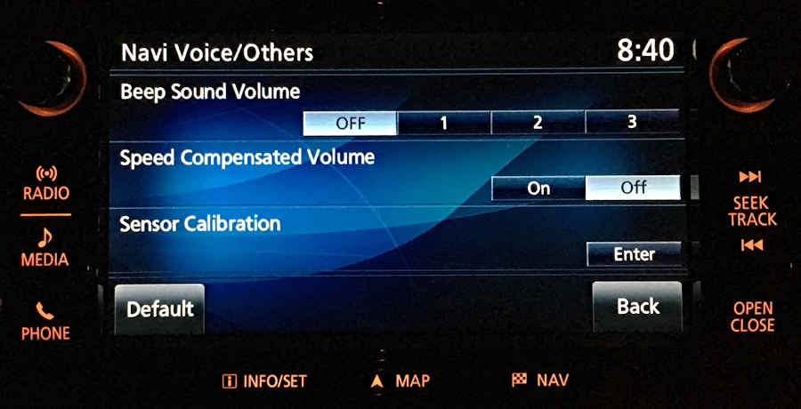 nav voice settings, mitsubishi multi communication system mmcs 2016
