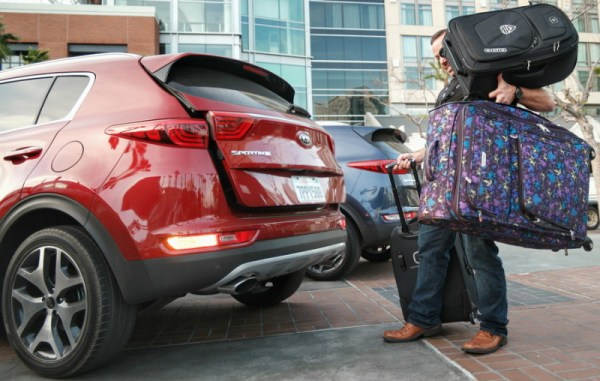 Patrick Quinn of Life Of Dad loads up a Kia Sportage