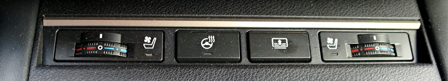 lexus es350 control buttons heated steering wheel
