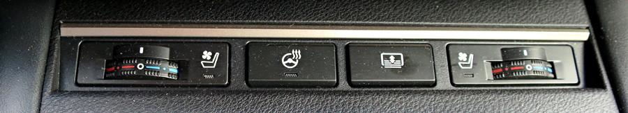 lexus es350 control buttons heated steering wheel