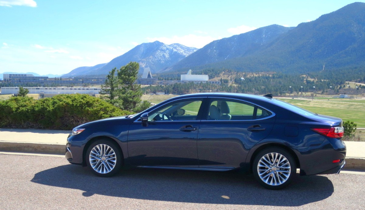lexus es350 at the air force academy, colorado springs