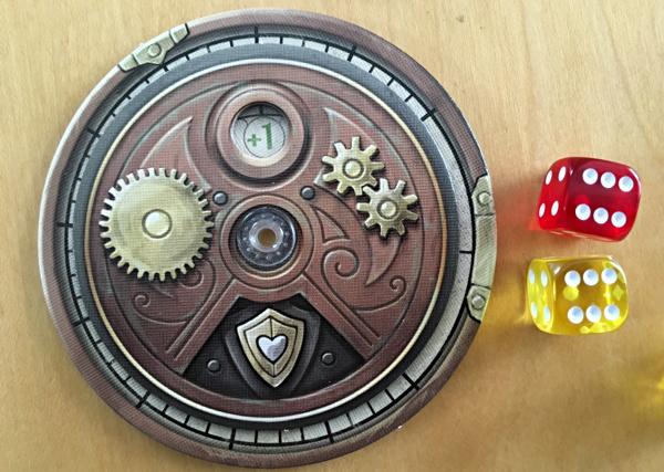 the damage wheel, steampunk rally
