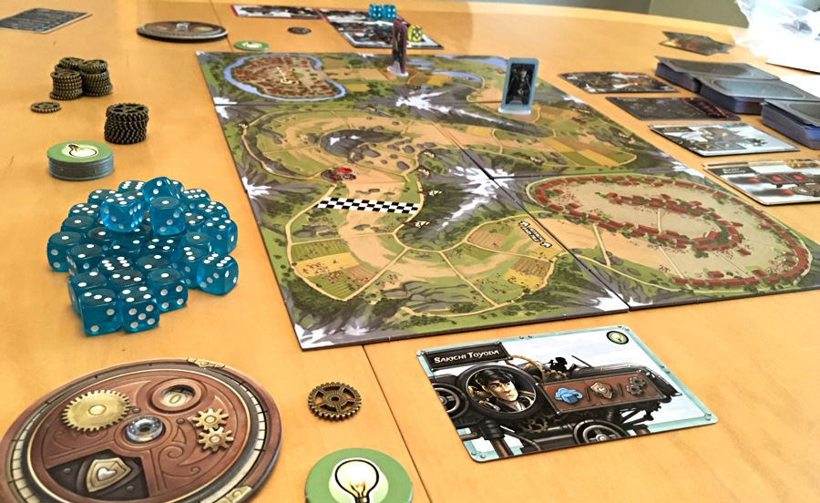 steampunk rally in play early in the game