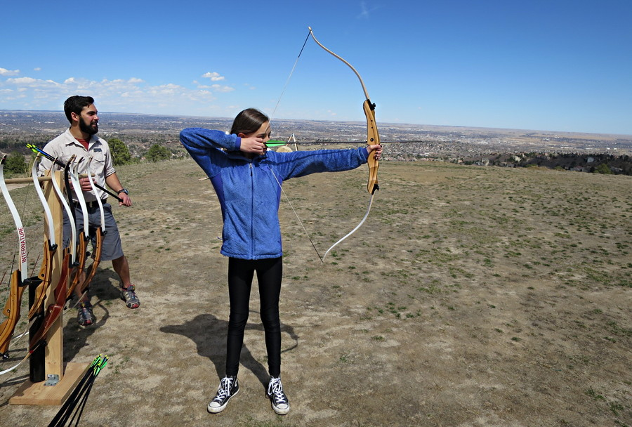 girl archery colorado broadmoor