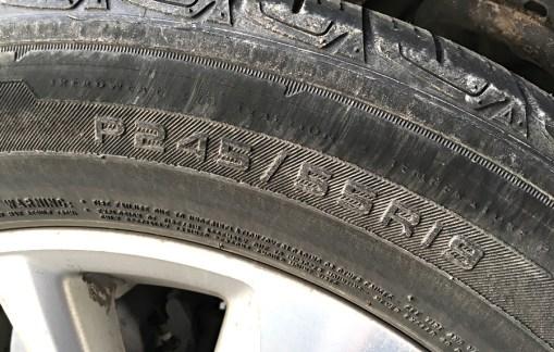 how big is my car suv truck tire wheel