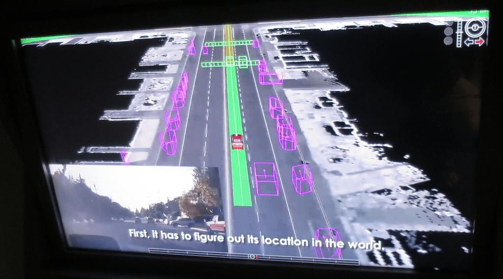 velodyne lidar mock-up autonomous cars