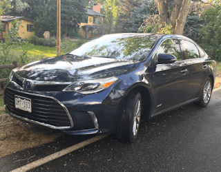 review 2016 toyota avalon hybrid limited