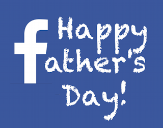 happy facebook father's day graphic