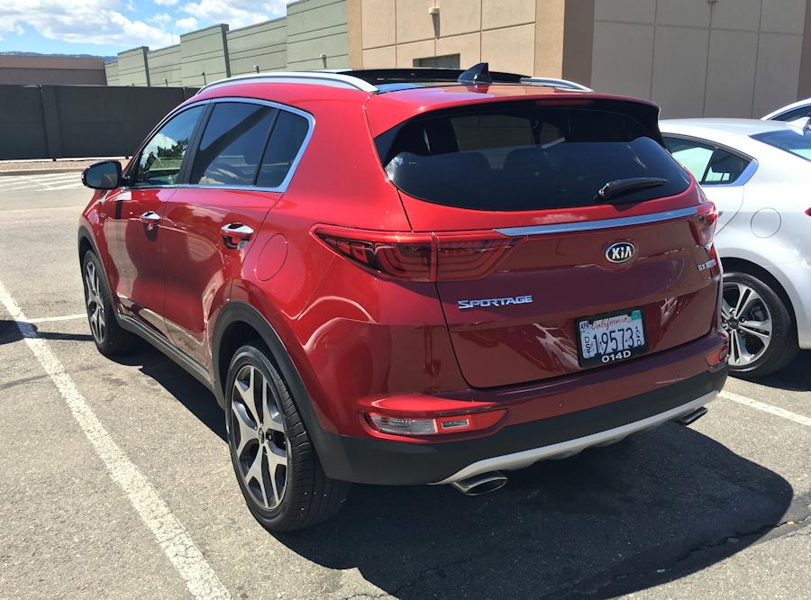 2016 kia sportage, exterior, red