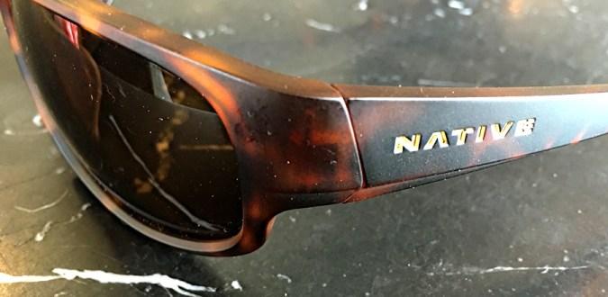 closeup of native hinge logo native crestone