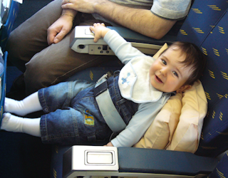 babies on airplanes: there's no shame in that, but parents still need to parent