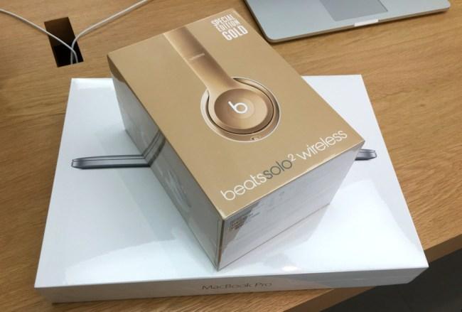 new macbook pro beats solo wireless headphones