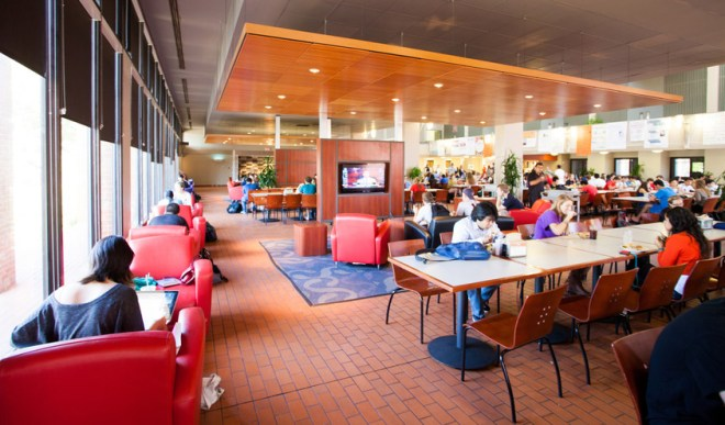 trinity university dining hall