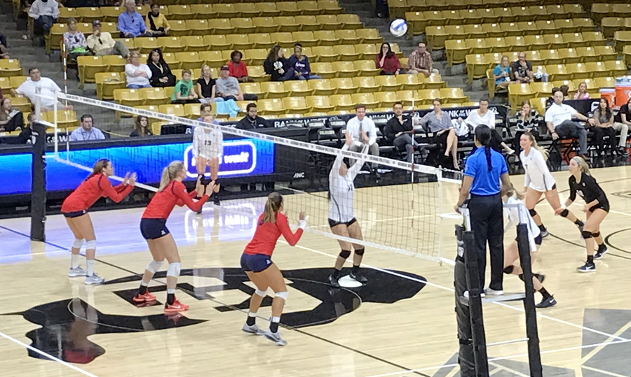 cu women's volleyball