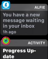 alfie alert, apple watch