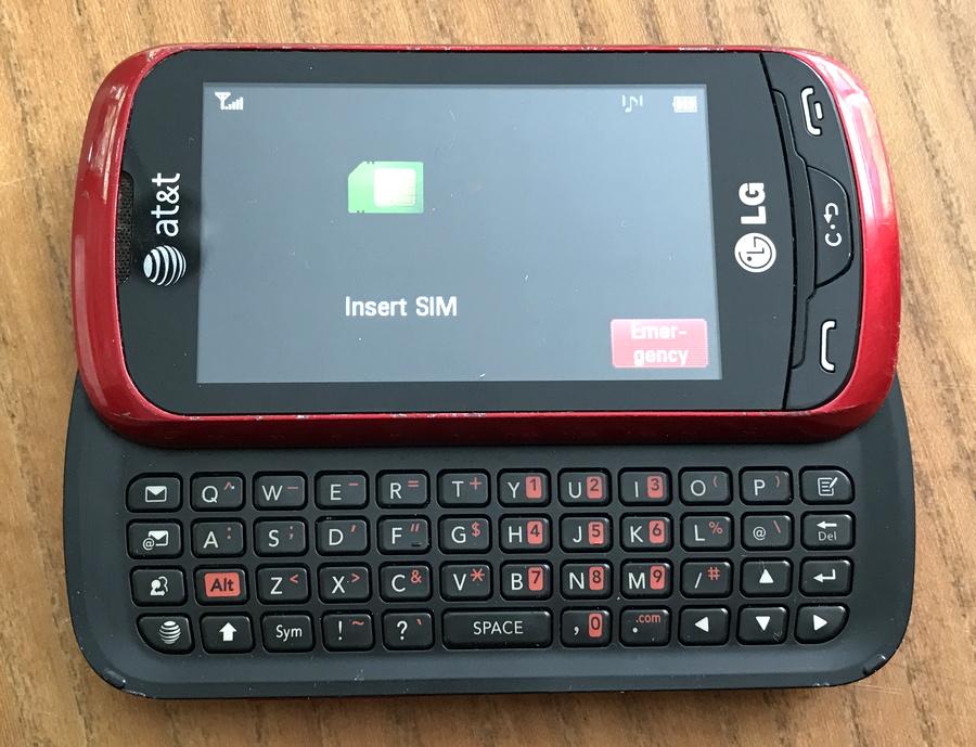 tween child kid phone: lg xpression 2 slider