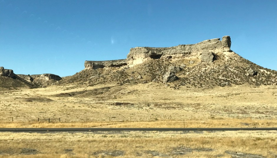 wyoming rolling hills, autumn