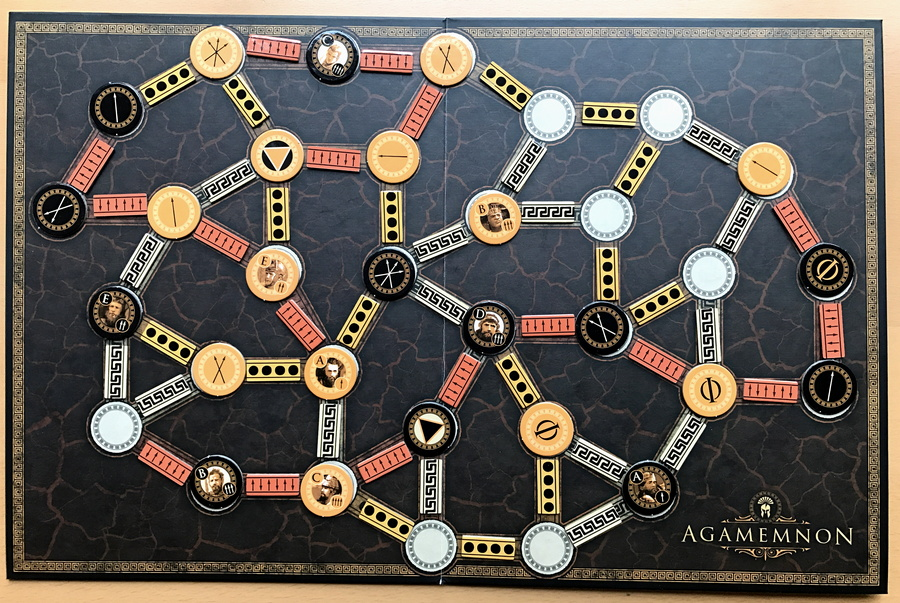agamemnon almost done playing board game