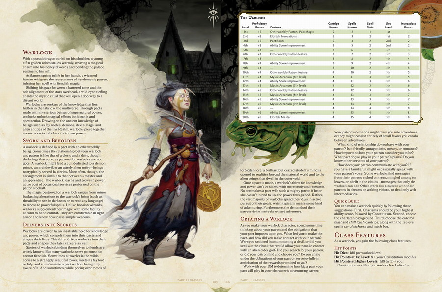 dungeons and dragons player handbook 5th edition - wizards