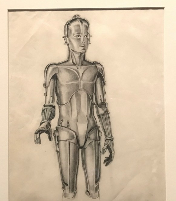 original c3po robot design, star wars