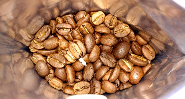 king's row coffee beans in the bag