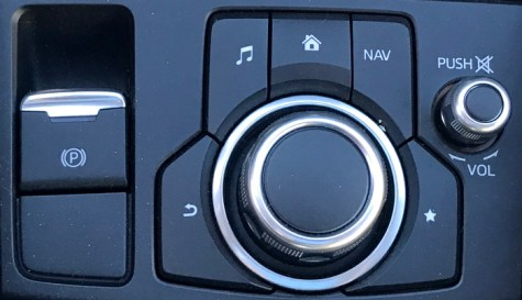 mazda nav system controls