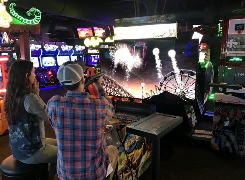 buck hunter, shooting fireworks, ftw denver