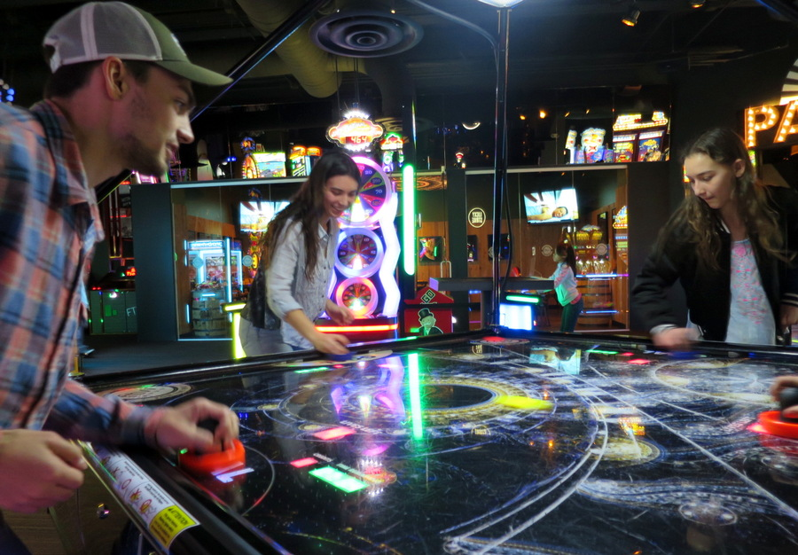 four person air hockey, ftw denver