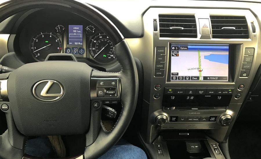 2017 lexus gx460 front dashboard