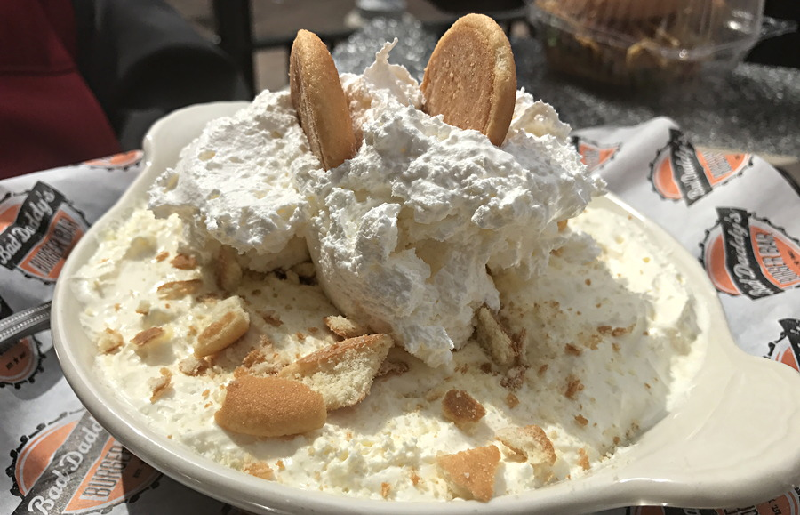 banana pudding - bad daddy's burger bar