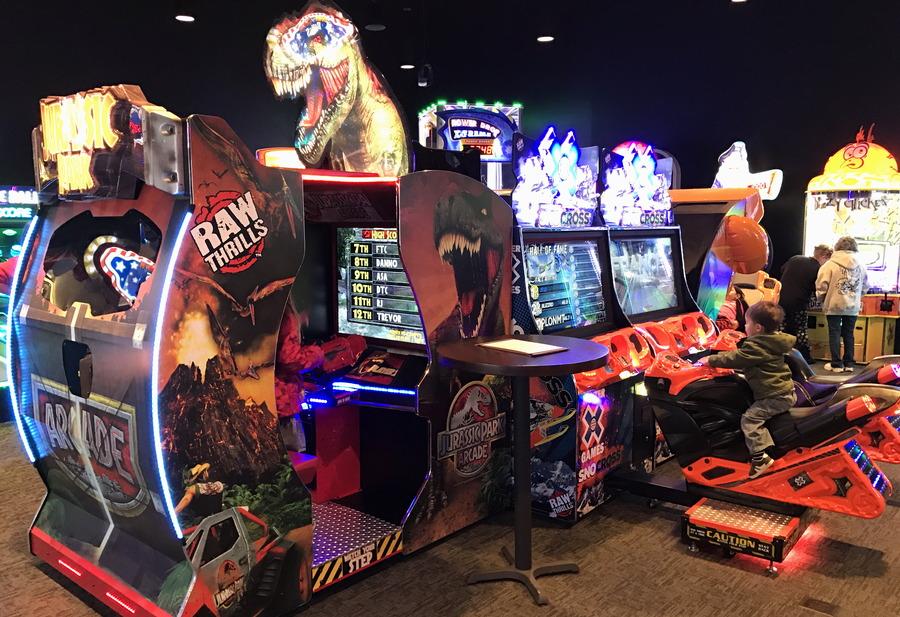 arcade video games, the wild game longmont co