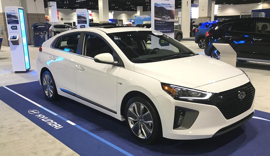 hyundai ioniq 2017 hybrid