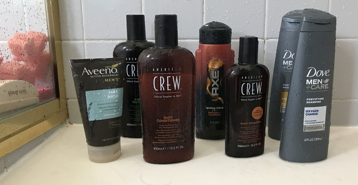 men's hair products - all in black