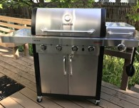 char-broil commercial 4-burner grill bbq