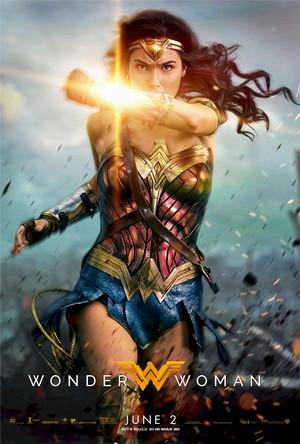 wonder woman one sheet movie poster 2017