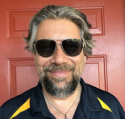 dave taylor wearing sunglasses