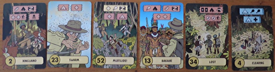 the lost expedition action adventure cards game