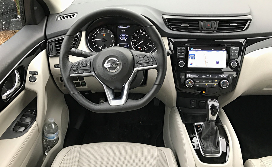 2017 nissan rogue sport interior dashboard d-steering wheel