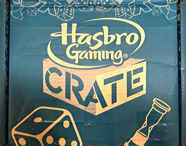 review of hasbro gaming crate box fomo party
